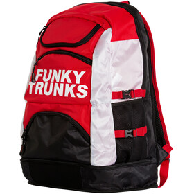 Funky Trunks Elite Squad Zwem- en Tri Transition rugzak rood/zwart